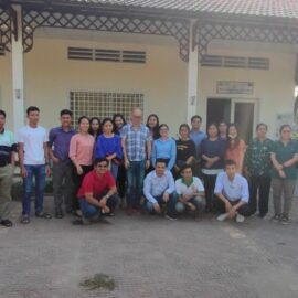 The sixth NEXUS Technical Training Royal University of Agriculture, Cambodia